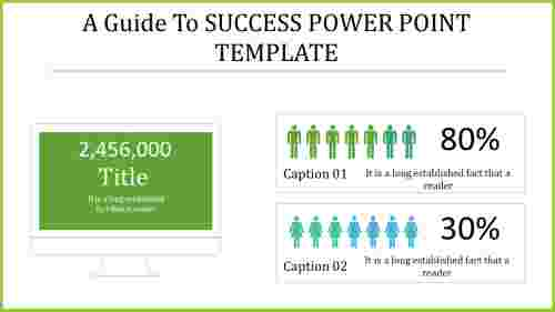 The simple success PowerPoint template that wins customers