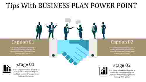 business plan power point - customer relation ship