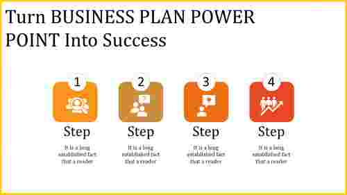 business plan power point - four stage