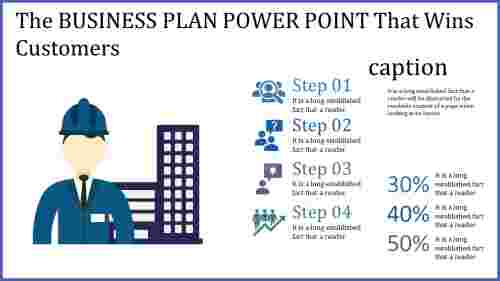 business plan power point - construction