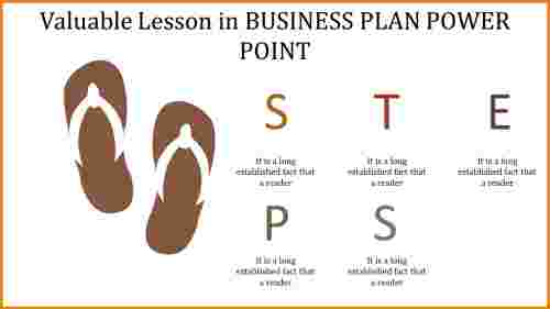 business plan power point - STEPS