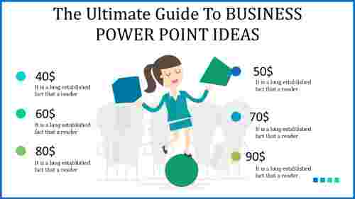 Business power point ideas design