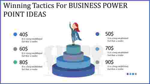 business power point ideas - target achievement
