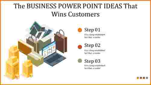 business power point ideas - win your customers