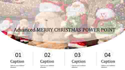 merry Christmas power point-Advanced MERRY CHRISTMAS POWER POINT