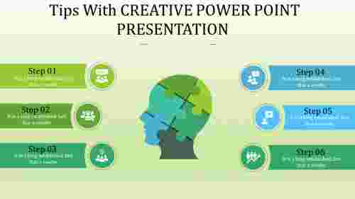 Tips for creative power point presentation