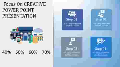 Marketing creative power point presentation