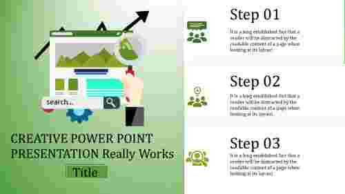 creative power point presentation - Search orient