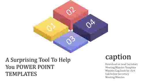Boxes power point templates