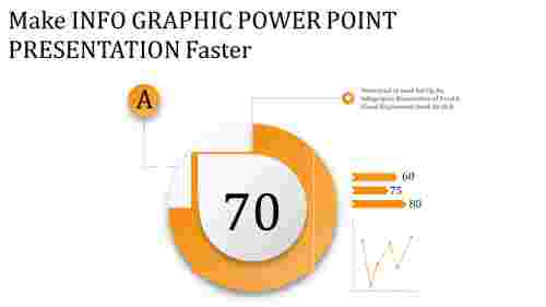 Simple cool info graphic power point presentation