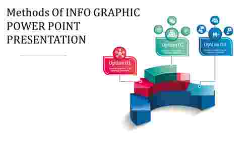 Infographic power point presentation - 3D Arc Shape