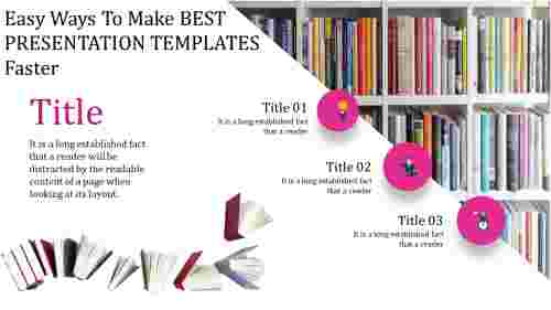 Library best presentation templates