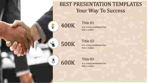 A three noded best presentation templates