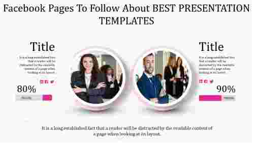 Best presentation templates with comparison