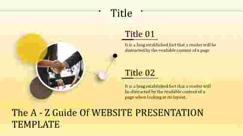website presentation template-The A - Z Guide Of WEBSITE PRESENTATION TEMPLATE
