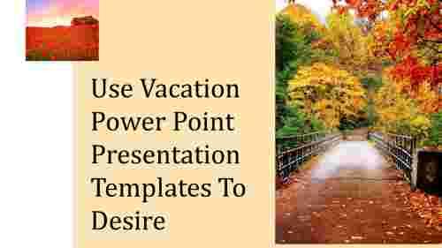 A zero noded vacation power point presentation temp