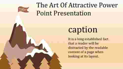 A one noded attractive power point presentation