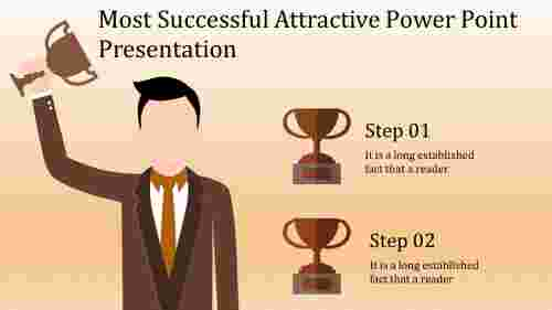 A two noded attractive power point presentation