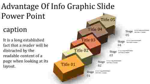 A six noded info graphic slide power point
