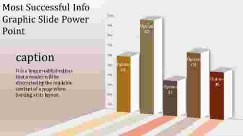 A one noded info graphic slide power point