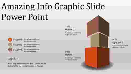 A seven noded info graphic slide power point