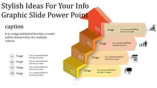 A nine noded info graphic slide power point