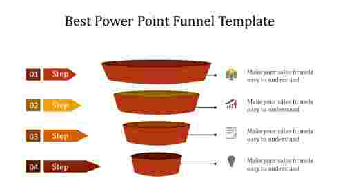 Best power point funnel template