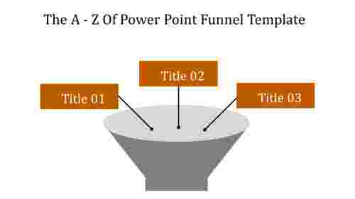 Simple power point funnel template