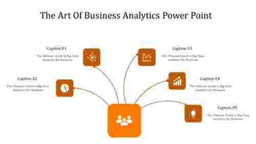 A five noded business analytics power point