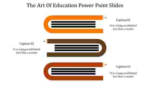 A three noded education power point slides