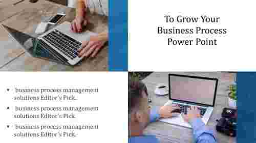 A three noded business process power point