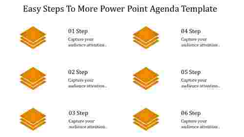 PowerPoint agenda template-Diamond model