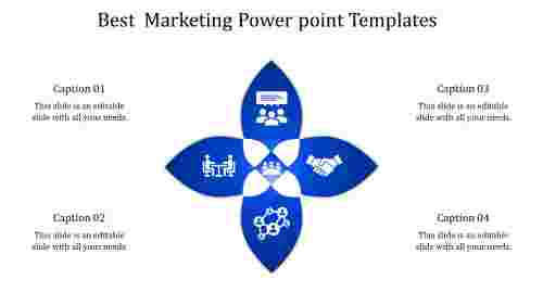 Best Marketing Powerpoint Templates-Flower Model