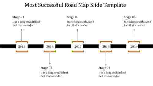 clear roadmap timeline template