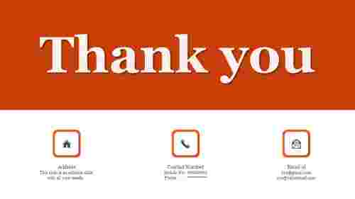 Best thank you slides for powerpoint presentation