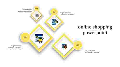 online shopping powerpoint-online shopping powerpoint-yellowcolor