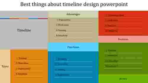 A zero noded timeline design powerpoint