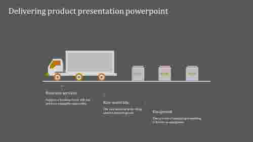 A three noded product presentation powerpoint