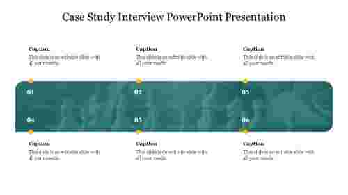 A zero noded case study interview powerpoint presentation