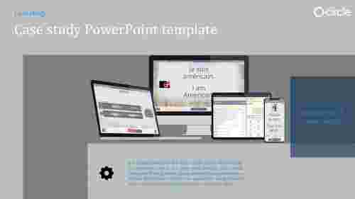 A one noded case study powerpoint template