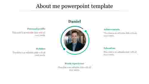 Incredible about me powerpoint template
