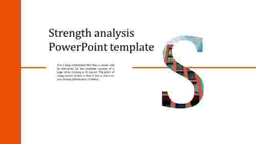 Best strength analysis powerpoint template