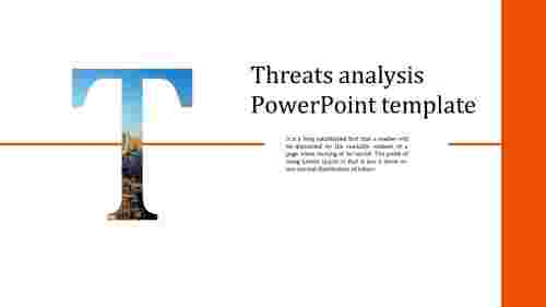 Best Threats analysis PowerPoint template