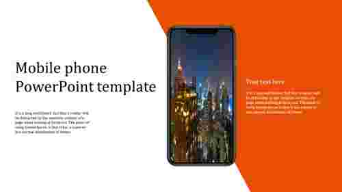 Best mobile phone powerpoint template