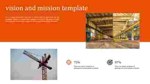 Simple vision and mission template