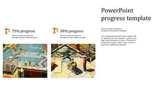 Best incredible powerpoint progress template
