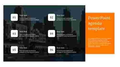 powerpoint agenda template for company