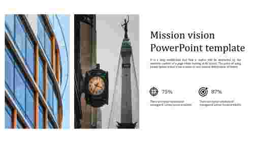 Best mission vision powerpoint template