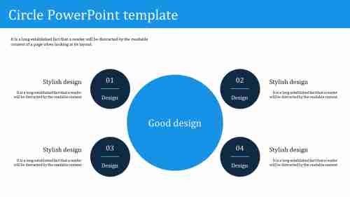 Best circle powerpoint template