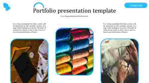 Best creative portfolio presentation template